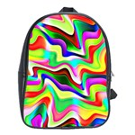Irritation Colorful Dream School Bags (XL)  Front