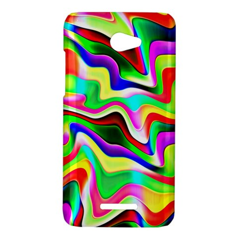 Irritation Colorful Dream HTC Butterfly X920E Hardshell Case