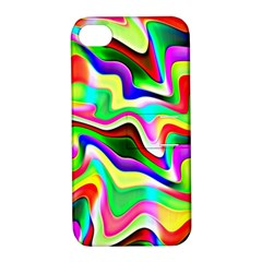Irritation Colorful Dream Apple Iphone 4/4s Hardshell Case With Stand