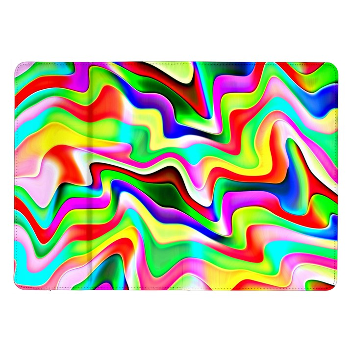 Irritation Colorful Dream Samsung Galaxy Tab 10.1  P7500 Flip Case