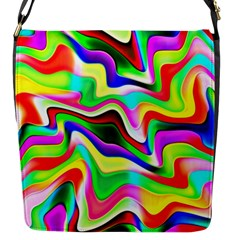 Irritation Colorful Dream Flap Messenger Bag (S)