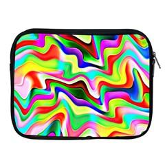 Irritation Colorful Dream Apple Ipad 2/3/4 Zipper Cases