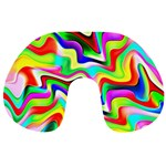 Irritation Colorful Dream Travel Neck Pillows Back