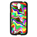 Irritation Colorful Dream Samsung Galaxy S4 I9500/ I9505 Case (Black) Front