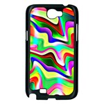 Irritation Colorful Dream Samsung Galaxy Note 2 Case (Black) Front