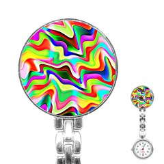 Irritation Colorful Dream Stainless Steel Nurses Watch
