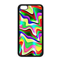 Irritation Colorful Dream Apple iPhone 5C Seamless Case (Black)