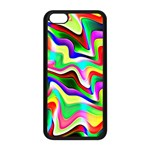 Irritation Colorful Dream Apple iPhone 5C Seamless Case (Black) Front