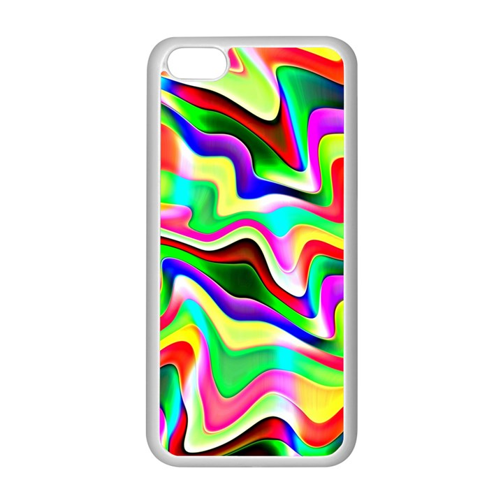 Irritation Colorful Dream Apple iPhone 5C Seamless Case (White)