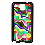 Irritation Colorful Dream Samsung Galaxy Note 3 N9005 Case (Black) Front