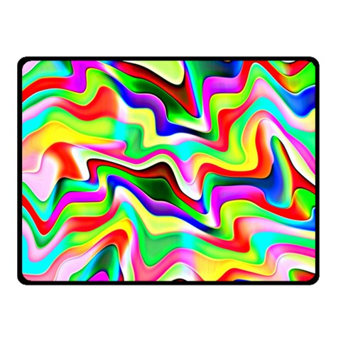 Irritation Colorful Dream Double Sided Fleece Blanket (Small)