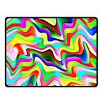 Irritation Colorful Dream Double Sided Fleece Blanket (Small)  50 x40 Blanket Back