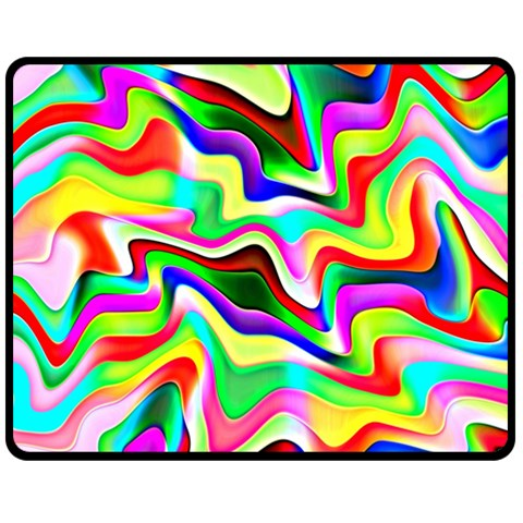 Irritation Colorful Dream Double Sided Fleece Blanket (Medium)