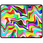 Irritation Colorful Dream Double Sided Fleece Blanket (Medium)  60 x50 Blanket Front