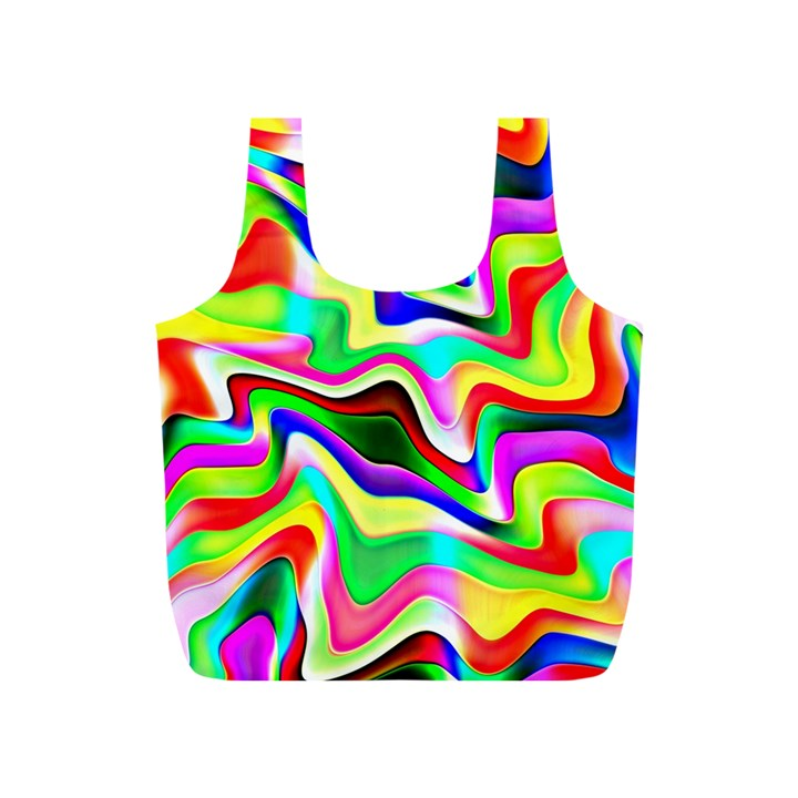 Irritation Colorful Dream Full Print Recycle Bags (S)
