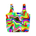 Irritation Colorful Dream Full Print Recycle Bags (M)  Back