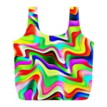 Irritation Colorful Dream Full Print Recycle Bags (L)  Front