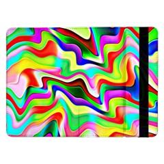 Irritation Colorful Dream Samsung Galaxy Tab Pro 12 2  Flip Case
