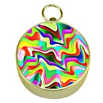 Irritation Colorful Dream Gold Compasses Front