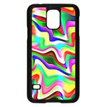 Irritation Colorful Dream Samsung Galaxy S5 Case (Black) Front