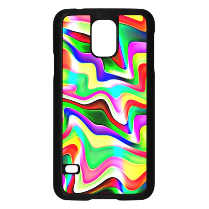 Irritation Colorful Dream Samsung Galaxy S5 Case (Black)