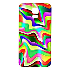 Irritation Colorful Dream Samsung Galaxy S5 Back Case (white)