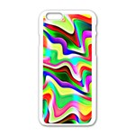 Irritation Colorful Dream Apple iPhone 6/6S White Enamel Case Front