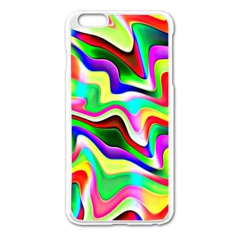 Irritation Colorful Dream Apple iPhone 6 Plus/6S Plus Enamel White Case