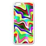 Irritation Colorful Dream Apple iPhone 6 Plus/6S Plus Enamel White Case Front