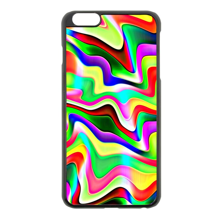 Irritation Colorful Dream Apple iPhone 6 Plus/6S Plus Black Enamel Case