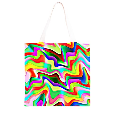 Irritation Colorful Dream Grocery Light Tote Bag
