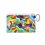 Irritation Colorful Dream Canvas Cosmetic Bag (S) Back