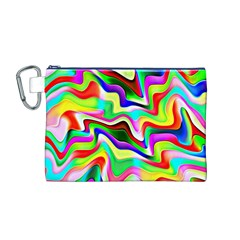 Irritation Colorful Dream Canvas Cosmetic Bag (m)