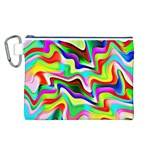 Irritation Colorful Dream Canvas Cosmetic Bag (L) Front