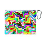 Irritation Colorful Dream Canvas Cosmetic Bag (L) Back