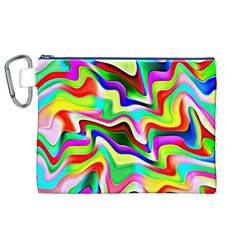 Irritation Colorful Dream Canvas Cosmetic Bag (XL)