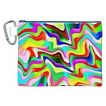Irritation Colorful Dream Canvas Cosmetic Bag (XXL) Front