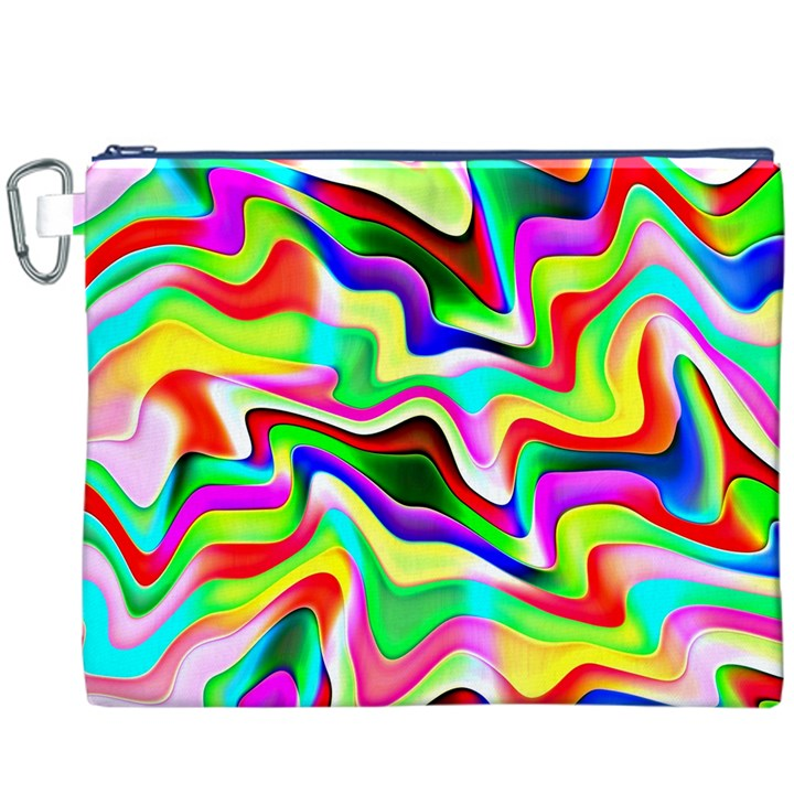 Irritation Colorful Dream Canvas Cosmetic Bag (XXXL)