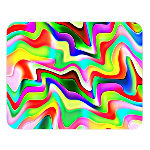 Irritation Colorful Dream Double Sided Flano Blanket (Large)