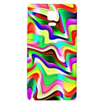 Irritation Colorful Dream Galaxy Note 4 Back Case Front