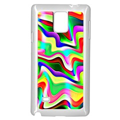 Irritation Colorful Dream Samsung Galaxy Note 4 Case (white)