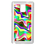 Irritation Colorful Dream Samsung Galaxy Note 4 Case (White) Front