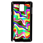 Irritation Colorful Dream Samsung Galaxy Note 4 Case (Black) Front