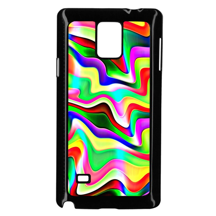 Irritation Colorful Dream Samsung Galaxy Note 4 Case (Black)