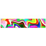 Irritation Colorful Dream Flano Scarf (Small) Back