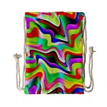 Irritation Colorful Dream Drawstring Bag (Small) Back