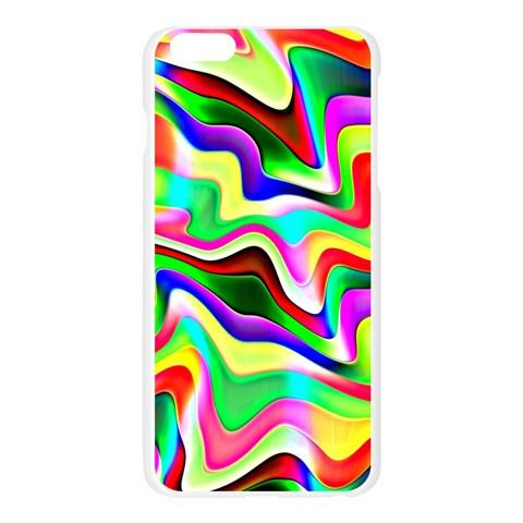 Irritation Colorful Dream Apple Seamless iPhone 6 Plus/6S Plus Case (Transparent)