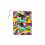 Irritation Colorful Dream Drawstring Pouches (XS)  Back