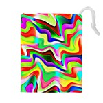 Irritation Colorful Dream Drawstring Pouches (Extra Large) Front