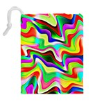 Irritation Colorful Dream Drawstring Pouches (Extra Large) Back